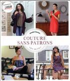 Couverture du livre « Couture sans patrons » de Annabel Benilan aux éditions Le Temps Apprivoise