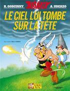 Couverture du livre « Astérix t.33 ; le ciel lui tombe sur la tête » de Rene Goscinny et Albert Uderzo aux éditions Albert Rene