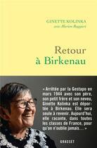 Couverture du livre « Retour à Birkenau » de Marion Ruggieri et Ginette Kolinka aux éditions Grasset Et Fasquelle