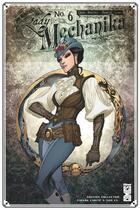 Couverture du livre « Lady Mechanika T.6 ; la belle dame sans merci » de Marcia Chen et Martin Montiel et Joe Benitez aux éditions Glenat Comics