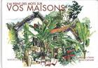 Couverture du livre « J'ai peint des mots sur vos maisons » de Bruno Fortuner aux éditions Magellan Et Cie