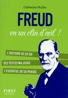 Couverture du livre « Freud en un clin d'oeil » de Catherine Muller aux éditions First