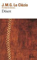 Couverture du livre « Désert » de Jean-Marie Gustave Le Clezio aux éditions Gallimard