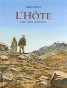 Couverture du livre « L'hôte » de Jacques Ferrandez aux éditions Gallimard Bd