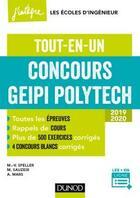 Couverture du livre « Concours Geipi Polytech (2e édition) » de Marie-Virginie Speller et Michael Sauzeix et Alexandre Mars aux éditions Dunod