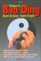 Couverture du livre « Pratique du bao ding » de Li Mary aux éditions Trajectoire