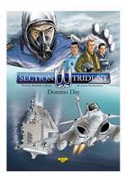 Couverture du livre « Section trident t.2 ; assaut sur le CDG » de Patrice Buendia et Dams aux éditions Zephyr