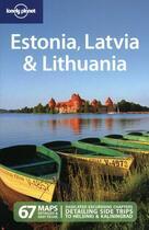 Couverture du livre « Estonia, Latvia & Lithuania (5e édition) » de Carolyn Bain aux éditions Lonely Planet France