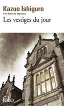 Couverture du livre « Les vestiges du jour » de Kazuo Ishiguro aux éditions Gallimard