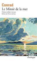 Couverture du livre « Le miroir de la mer » de Joseph Conrad aux éditions Folio