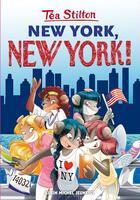 Couverture du livre « Les Téa sisters T.6 ; New York New York ! » de Tea Stilton aux éditions Albin Michel Jeunesse