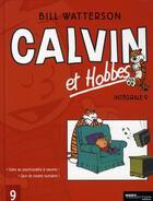 Couverture du livre « Calvin et Hobbes ; INTEGRALE VOL.9 ; T.18 ET T.19 » de Bill Watterson aux éditions Hors Collection