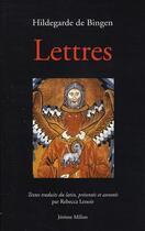 Couverture du livre « Lettres » de Hildegarde aux éditions Millon