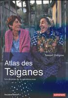 Couverture du livre « Atlas des tsiganes » de Samuel Delepine aux éditions Autrement