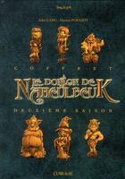 Couverture du livre « Le donjon de Naheulbeuk ; COFFRET ; saison 2 » de John Lang et Marion Poinsot aux éditions Clair De Lune