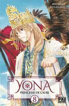 Couverture du livre « Yona, princesse de l'aube T.8 » de Mizuho Kusanagi aux éditions Pika