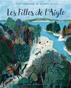 Couverture du livre « Les filles de l'aigle » de Elise Fontenaille et Quentin Duckit aux éditions Gallimard-jeunesse