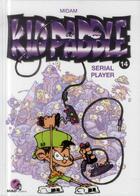 Couverture du livre « Kid Paddle T.14 ; serial player » de Midam aux éditions Glenat