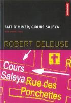 Couverture du livre « Faits Divers, Cours Saleya » de Robert Deleuse aux éditions Autrement
