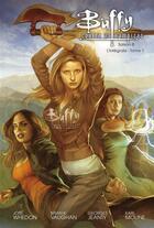 Couverture du livre « Buffy contre les vampires - saison 8 ; INTEGRALE VOL.1 ; T.1 A T.4 » de Brian K. Vaughan et Joss Whedon et Georges Jeanty et Karl Moline aux éditions Panini