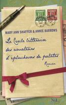 Couverture du livre « Le cercle littéraire des amateurs d'épluchures de patates » de Mary Ann Shaffer aux éditions Nil
