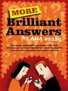 Couverture du livre « More Brilliant Answers » de 63336 Aqa aux éditions Profil Digital