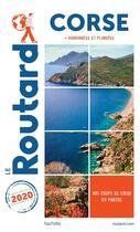 Couverture du livre « Guide du Routard ; Corse ; + randonnées et plongées (édition 2020) » de Collectif Hachette aux éditions Hachette Tourisme