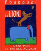 Couverture du livre « Pourquoi le lion n'est plus le roi des animaux » de In Koli Jean Bofane aux éditions Gallimard-jeunesse