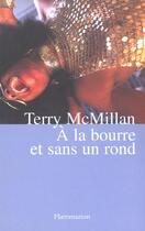 Couverture du livre « A la bourre et sans un rond » de Terry Mcmillan aux éditions Flammarion