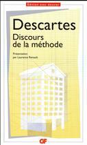 Couverture du livre « Discours de la méthode » de Rene Descartes aux éditions Flammarion
