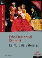 Couverture du livre « La nuit de Valognes » de Éric-Emmanuel Schmitt aux éditions Magnard