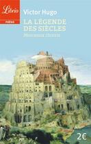 Couverture du livre « La légende des siècles ; morceaux choisis » de Victor Hugo aux éditions J'ai Lu