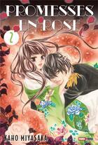 Couverture du livre « Promesses en rose T.2 » de Kaho Miyasaka aux éditions Panini