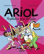 Couverture du livre « Ariol T.16 ; Naphtaline nous dit toutou » de Emmanuel Guibert et Marc Boutavant aux éditions Bd Kids