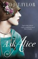 Couverture du livre « Ask Alice » de Taylor D J aux éditions Random House Digital