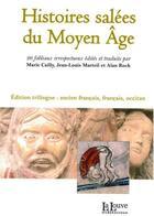 Couverture du livre « Histoires salées du Moyen âge ; 26 faibliaux irrespecteueux » de Collectif aux éditions La Louve