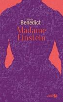Couverture du livre « Madame Einstein » de Marie Benedict aux éditions Presses De La Cite