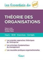 Couverture du livre « Theorie Des Organisations » de Benoit Grasser aux éditions Vuibert