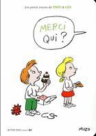 Couverture du livre « Merci qui ? » de Jean-Philippe Muzo aux éditions Actes Sud Junior