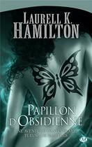 Couverture du livre « Anita Blake T.9 ; papillon d'obsidienne » de Laurell K. Hamilton aux éditions Milady