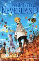 Couverture du livre « The promised Neverland T.9 » de Posuka Demizu et Kaiu Shirai aux éditions Kaze