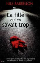 Couverture du livre « La fille qui en savait trop » de Nils Barrellon aux éditions City