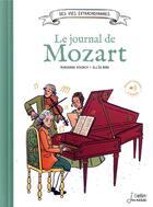 Couverture du livre « Le journal de Mozart » de Marianne Vourch et Ellea Bird aux éditions Belin Education