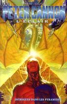 Couverture du livre « Peter Cannon t.2 ; l'éclair » de Alex Ross et Jonathan Lau et Steve Darnall aux éditions Panini