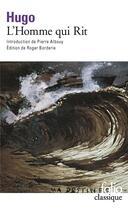 Couverture du livre « L'homme qui rit » de Victor Hugo aux éditions Gallimard