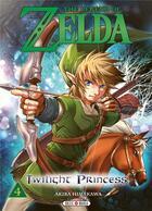 Couverture du livre « The legend of Zelda - twilight princess T.4 » de Akira Himekawa aux éditions Soleil