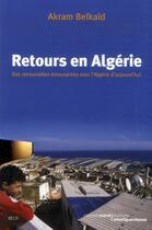 Couverture du livre « Retours en Algérie » de Akram Belkaid aux éditions Carnets Nord
