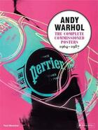 Couverture du livre « Andy warhol the complete commissioned posters 1964-1987 » de Marechal Paul aux éditions Prestel