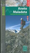 Couverture du livre « Aneto/maladeta 1/25.000 » de  aux éditions Alpina