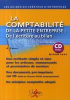 Couverture du livre « La comptabilité de la petite entreprise ; de l'écriture au bilan » de Faure aux éditions Chiron